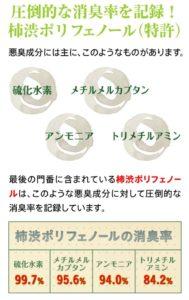 柿渋ポリフェノールの効果効能